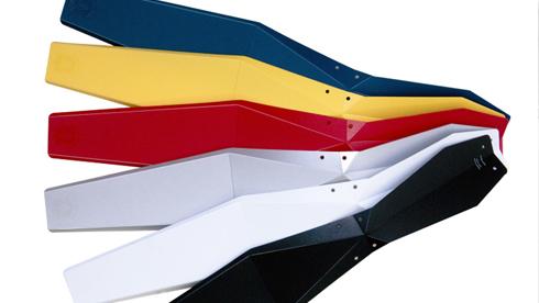 Full Windsor折纸造型的自行车挡泥板