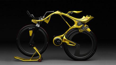 电动概念自行车INgSOC Bike