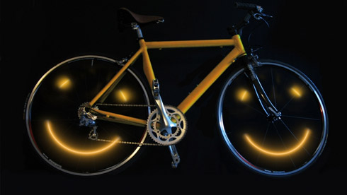 Joy Rider自行车灯 让你的自行车微笑起来