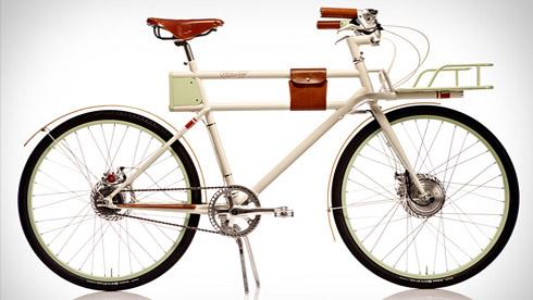 Faraday PORTEUR复古电动自行车