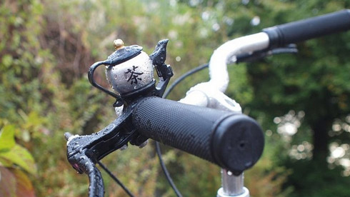 中国风!茶壶造型的自行车车铃
