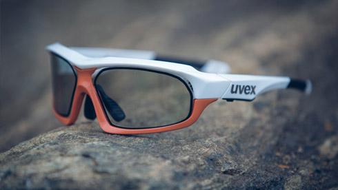 0.1秒!UVEX推出革命性变色自行车运动眼镜