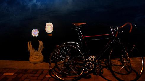奇珀尔彩虹反光帽 做个夜骑Cool魔