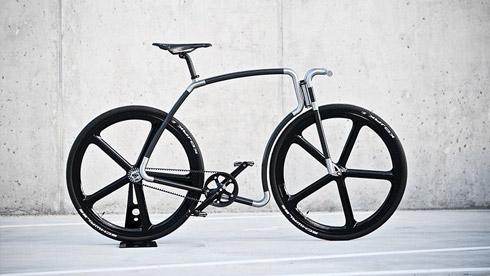 碳纤维死飞车 一辆来自外太空的自行车