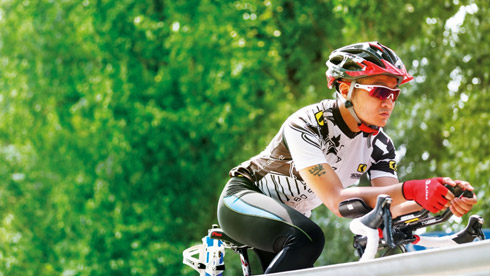 何晓乐:一位赛车手的铁人三项征程