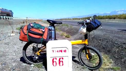 单车老太婆----穿越大美新疆 骑游丝绸之路