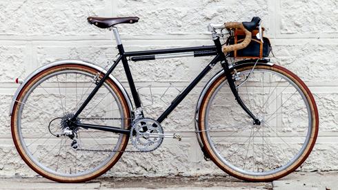 复古长途自行车 James复古版SOMA GR V1旅行车欣赏