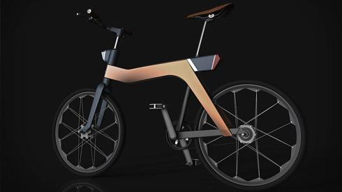 时尚+实用 rubybike人力电动两用车