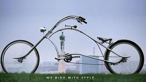 受够了平淡的生活?哈雷自行车圆你骑士梦