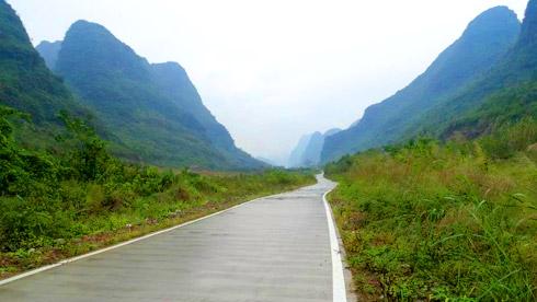 2015年骑行广西之 横县-桂林-柳州-来宾-横县(完)