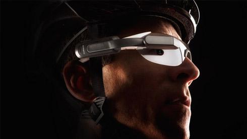 Garmin Varia Vision:让你的骑行护目镜变智能的配件