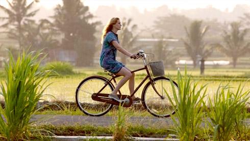 低碳生活:木材废料做自行车道 很美而且很低碳环保