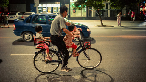 城市里,那些不经意发现的自行车小故事
