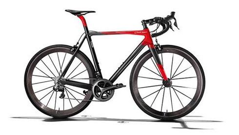 奥迪推出高端碳纤维自行车 售价12.1万元