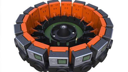 GoPro 推出 16 组相机阵列 Odyssey,售价 1.5 万美元