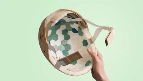瑞典研发环保自行车头盔 以木材为主要原料