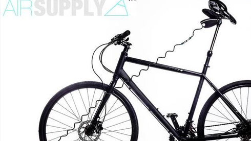 隐藏式打气泵 随时为自行车充气
