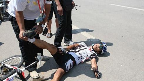 如何正确处理骑行中的意外伤害