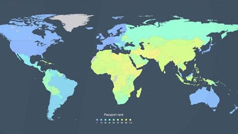 骑自行车环游世界,哪个国家的护照最易通关?