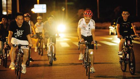 自行车夜骑安全守则