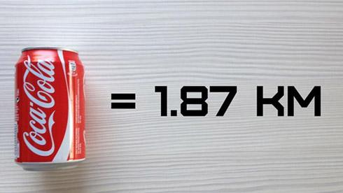 喝一瓶可乐需要跑多少公里才能消耗掉?汉堡呢?