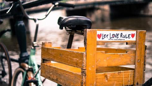 阿姆斯特丹:在这里没有比单车更多的艺术品
