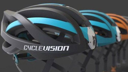 自行车头盔后置摄像机 骑行者后视无忧更安全