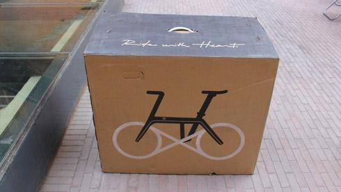 700bike银河折叠自行车开箱安装简易指南