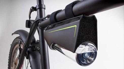 黑科技:一边骑自行车一边从空气中提取饮用水