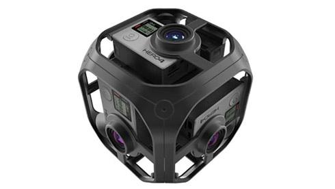 GoPro发布Omni 6摄像头VR相机 现已开始接受预订