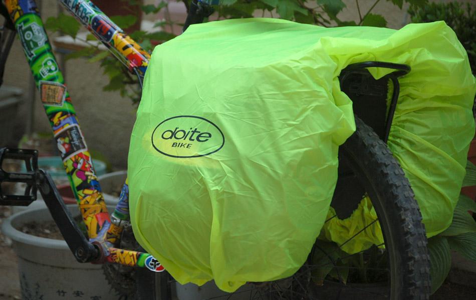 长途骑行利器——多伊特/Doite6186防水驮包评测