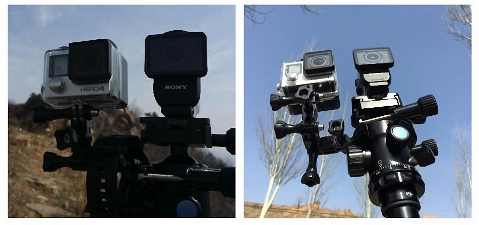 单车大作战:索尼酷拍AS50 PK Gopro 4 Black