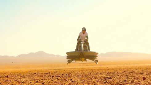 飞行自行车就要来了 骑车载着它飞起来吧