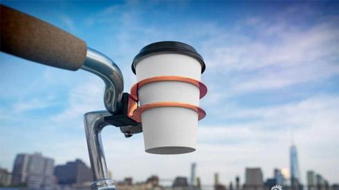 趣设计:骑骑车喝杯咖啡这才是生活