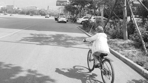 8岁男孩用18天从杭州骑向北京 全程1457公里