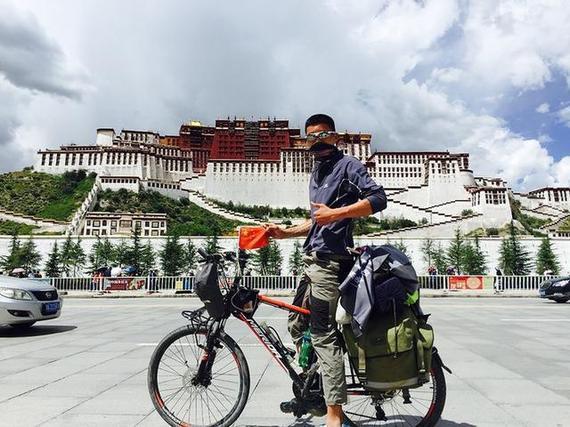 骑行资讯|快递小哥沿玄奘取经之路独自骑行 完成西行纪录片