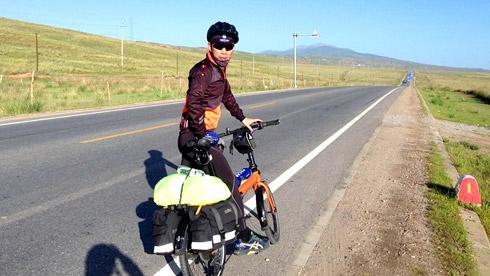 """我和""""小橙""""西游记 ——2016年青藏线骑行游记"""