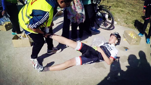 骑行知识:骑行时遇到抽筋的原因和处理方法