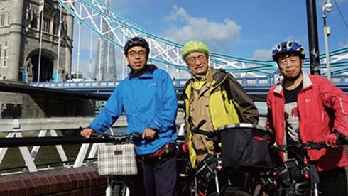世界那么大,骑车去看看 中国退伍老兵环英骑行