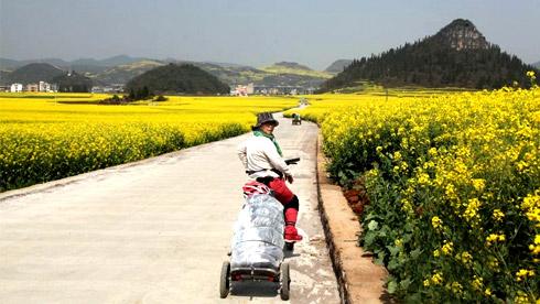 退休夫妻的骑游经历之-云南东部景区篇