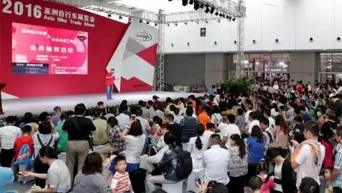 亚洲自行车展:2016不说再见 | 后有小编冒死彩蛋