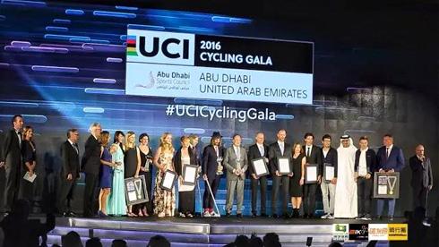 UCI GALA这么大的晚会,不二一下我还是世界冠军彼得·萨甘吗