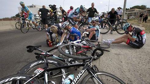 发生骑行事故时,要谨记的几条应对方法