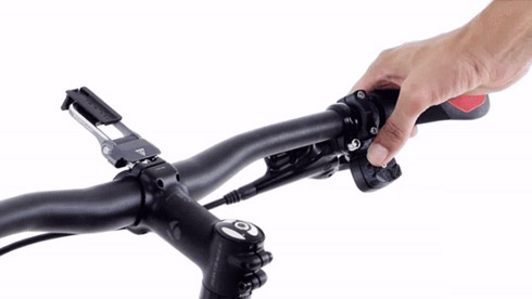Xshifter自行车无线变速器 一键控制档位高低