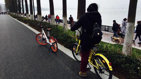 二线城市共享单车观察:车辆分布不均 使用者多为年轻人