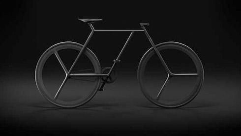 简单的美:又对称、又极简的BAIK概念自行车