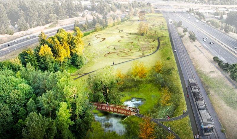 山地车公园建设计划图图片