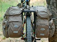 长途骑行利器——多伊特/Doite6186防水自行车驮包