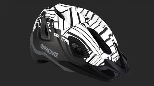 "Proviz将其独有的""Know-How""反光材料应用于新款头盔"