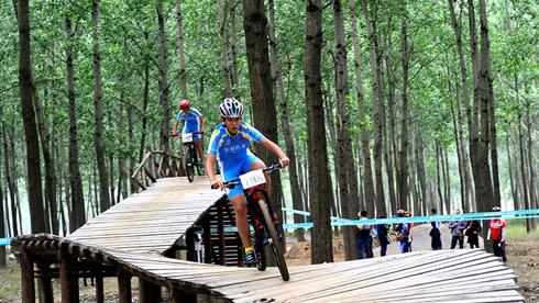 第四届泗阳平原林海山地越野自行车公开赛